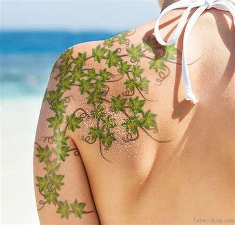 vine leaf tattoo designs 68 vine shoulder designs