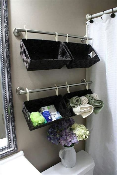 20 Ingenious Organizing Storaging Ideas Messagenote Apartment Bathroom Storage Ideas
