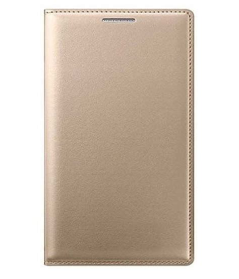 Flip Cover Vivo Y51 by Fabson Flip Cover For Vivo Y51 Vivo Y51l Golden Buy