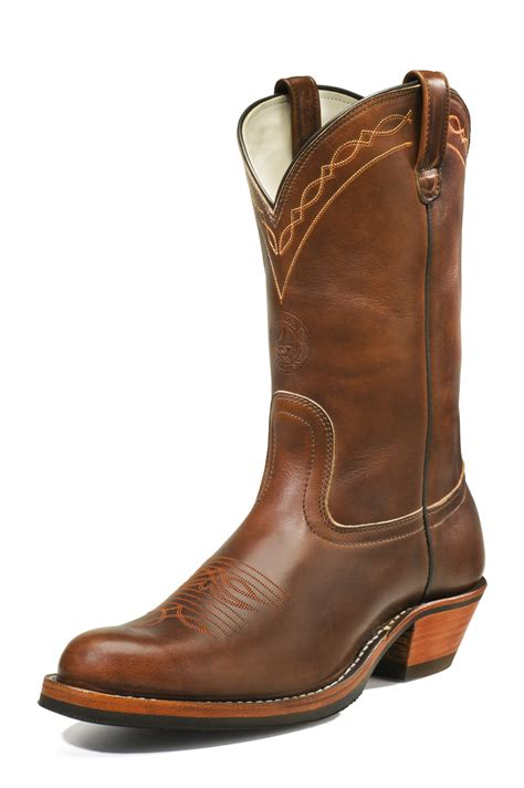 Best Home Decor Shopping Sites by Hathorn S Rancher Brown Chrome Style Wbrc329 Drew S Boots