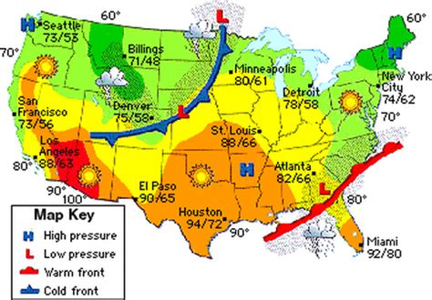 us weather patterns map science