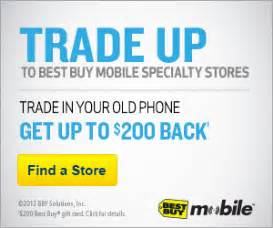 Where Can I Trade In My Gift Card For Cash - best buy mobile trade in program receive up to a 200 gift card