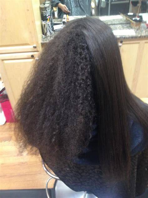 brazilian blowout on african american hair the gallery for gt brazilian blowout before and after