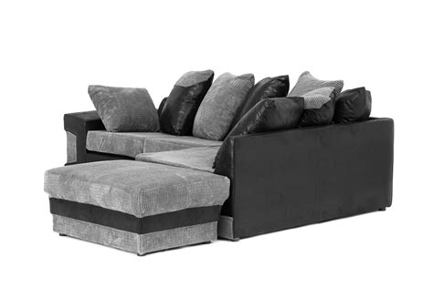 dino sofa dino corner sofa in black grey or brown beige with a