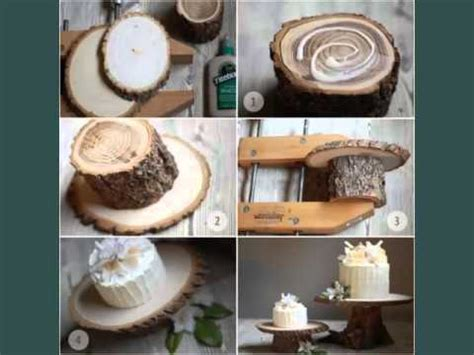 wood wedding decoration ideas set of pictures youtube