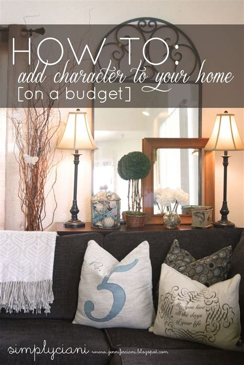 beautiful decor tips on a budget mod home org