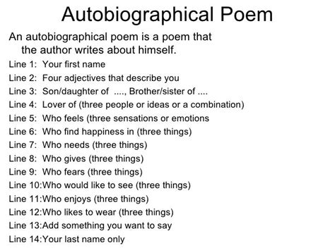 good biography structure best 25 bio poem exles ideas on pinterest exle of