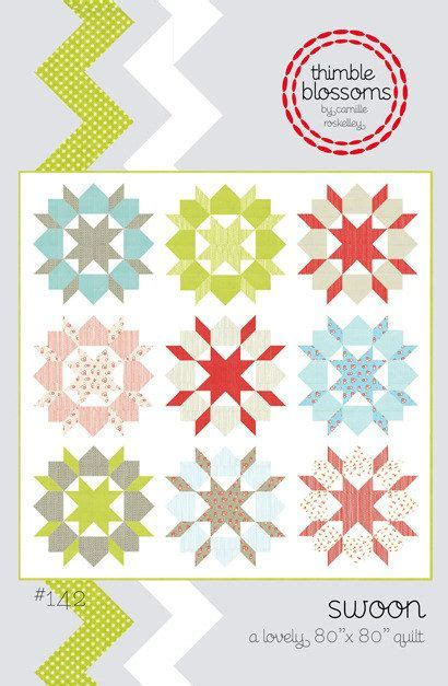Free Swoon Quilt Pattern by Thimble Blossoms Swoon Quilt Pattern