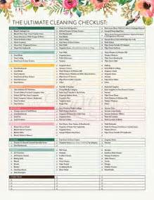 cleaning checklist printable best 25 cleaning checklist printable ideas on pinterest cleaning lists weekly cleaning