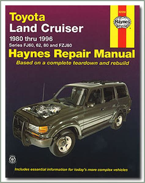 haynes toyota land cruiser 1980 1996 auto repair manual page 220 land cruiser aftermarket repair manuals