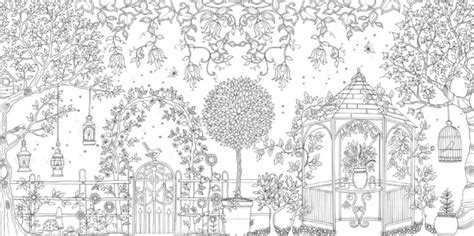 secret garden an inky treasure hunt and coloring book barnes and noble 秘密花园