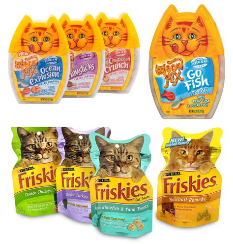 Snack Kucing Friskies Mix Cat Treats pets archives