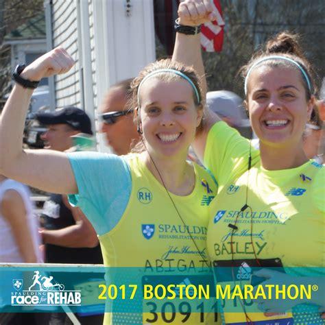 Detox Boston by Spaulding Race For Rehab 2017 Boston Marathon Team