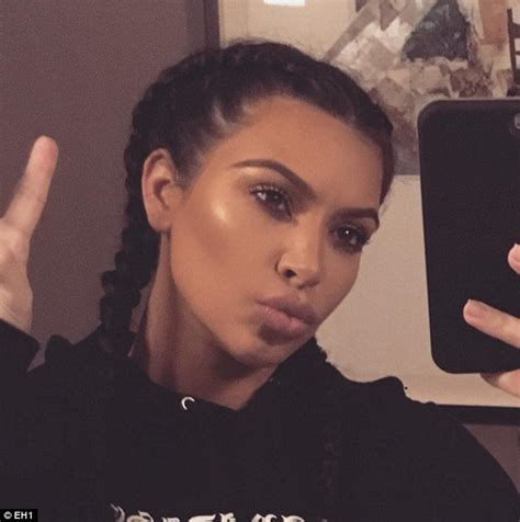 how to nail kim kardashians braids straight instylecom kim kardashian reveals low maintenance hair washing