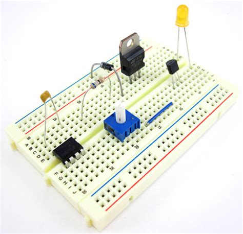 breadboard circuit guide how to use a breadboard