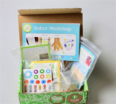 kid craft subscription box green crafts subscription box review may 2017