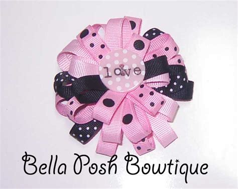 free instructions for boutique hair bows flower bow hip girl boutique free hair bow instructions