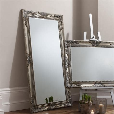 Ideas For Leaning Floor Mirror Design 20 Collection Of Framed Floor Mirrors Mirror Ideas