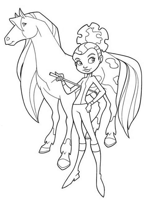horseland coloring pages horseland alma coloring pages az coloring pages