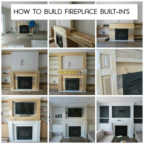build a living room building our fireplace built in s the sweetest digs