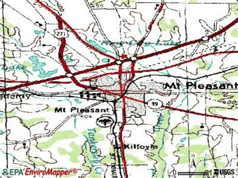 mt pleasant texas map mount pleasant texas tx 75455 profile population maps real estate averages homes