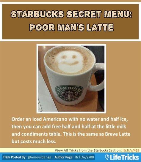 secret menu starbucks 17 best images about lattes on starbucks tea