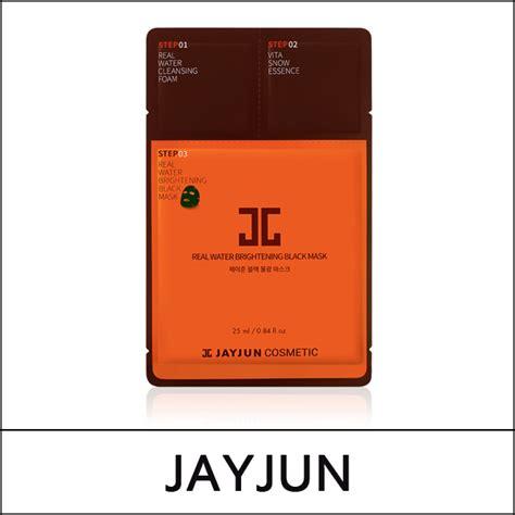 Premium Jayjun Real Water Brightening Black Mask Refine To Shine jayjun sale 63 sg real water brightening black mask 1 5ml 1 5ml 25ml 10ae 1 pack