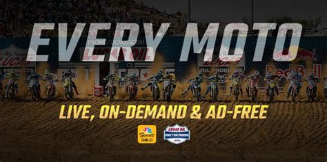 ama pro motocross live stream nbc announces pro motocross pay per view streaming package