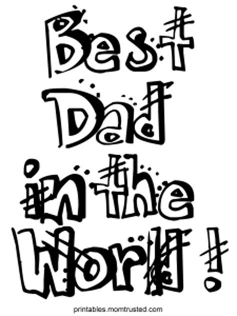 here s to the best dad ever coloring page twisty noodle mt printables