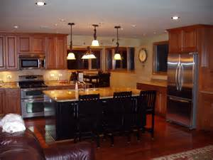 kitchens with bars and islands kitchen decor ideas