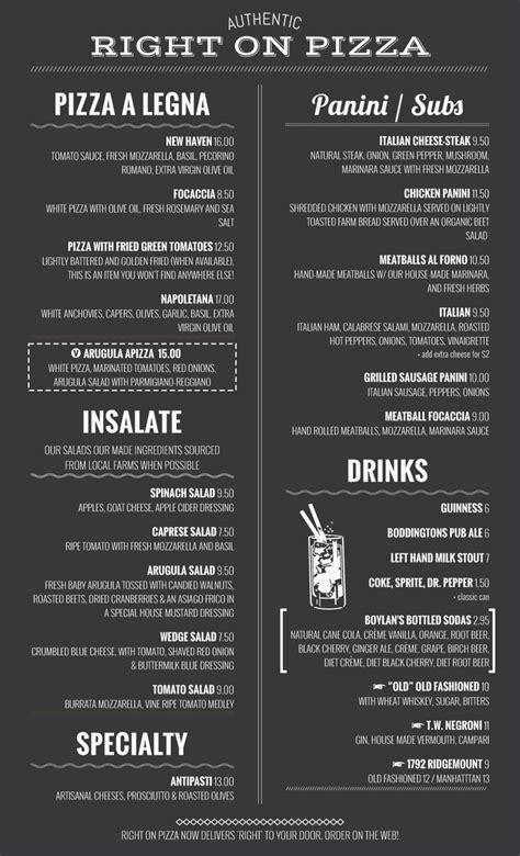 menu selling f i template imenupro 183 menu design sles from imenupro menu software