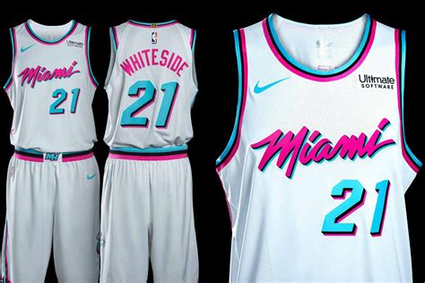 jersey design miami heat the heat unveil their miami vice inspired quot city edition