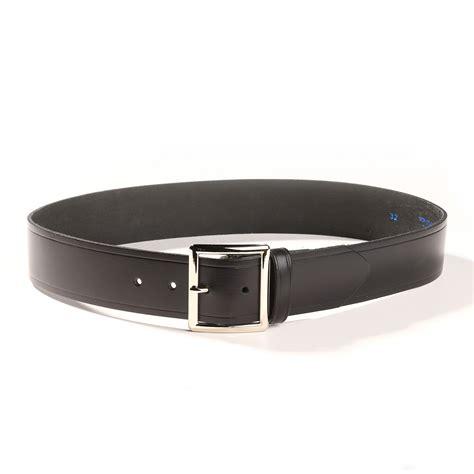 black leather belt 1 3 4 quot wide