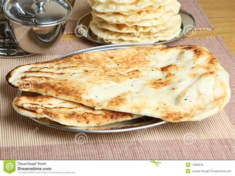 Starterkit Tray Nan indian naan bread royalty free stock photos image 17900918