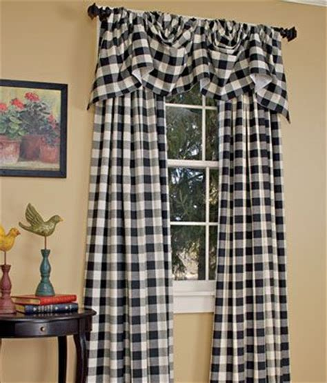 buffalo check curtains black 17 best images about buffalo check curtains on pinterest
