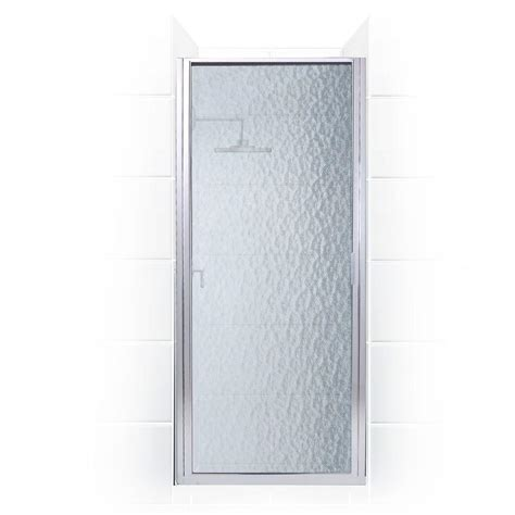 26 Shower Door Coastal Shower Doors Paragon Series 26 In X 69 In Framed Continuous Hinged Shower Door In