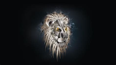 wallpaper black lion lion wallpapers wallpaper cave
