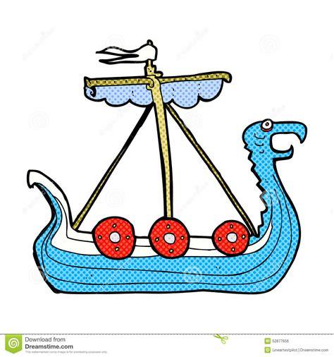 cartoon viking boat images comic cartoon viking ship stock illustration image 52877656
