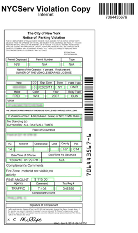 parking ticket template nytda finds an ocr solution to manage its clients parking