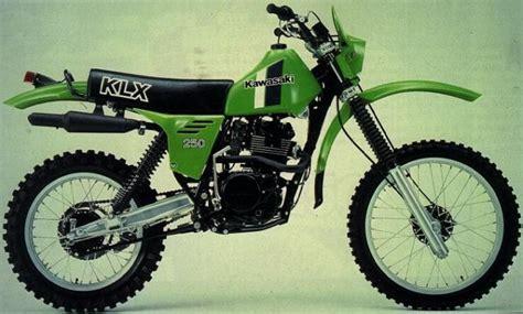 Shock Klx 250 1980 Kawasaki Klx250 Moto Zombdrive