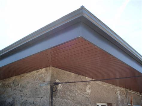 techo aluminio techos aluminio doscanal canalones en lugo
