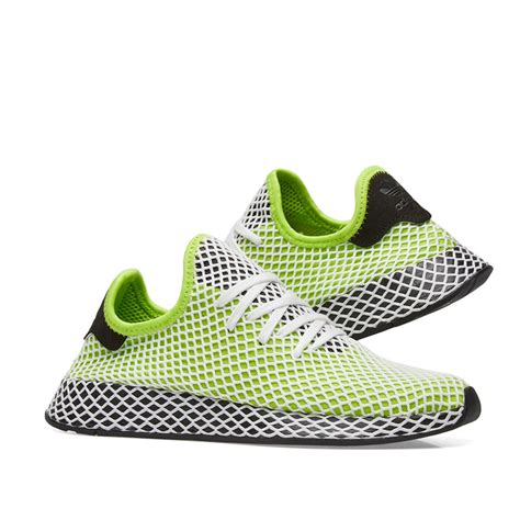adidas originals s originals deerupt runner casual shoes green modesens
