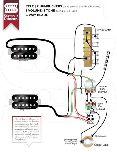 guitar wiring diagrams 2 2 volume 1 tone 48