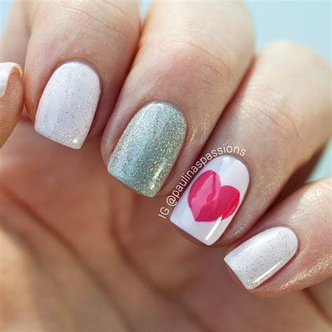 easy valentines nails s day nails archives