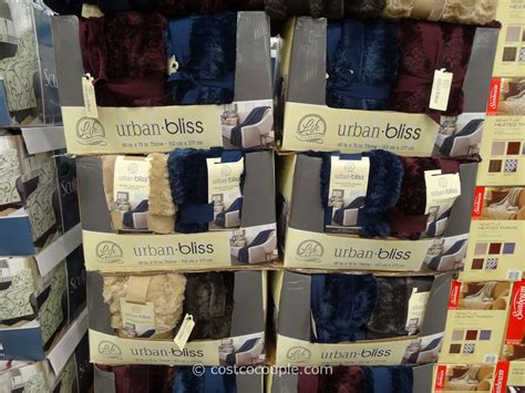 life comfort throw costco ultimate sherpa throw