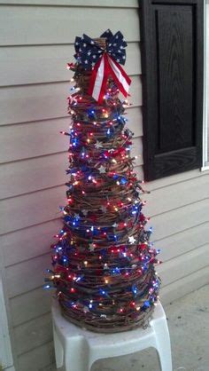 tree branches home decor branches 4th of july decor red patriotic christmas tree christmas tree holidays and