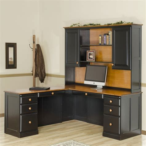 Corner Desk And Hutch Traditional Corner Desk Hutch Amish Traditional Corner Desk Hutch Country Furniture