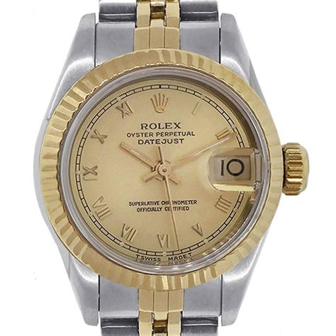 Rolex Datejust Automatic 1 rolex yellow gold stainless steel datejust