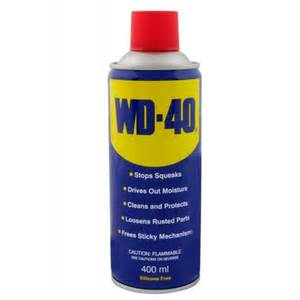 Small Bath Showers wd40 lubricant 400ml davies