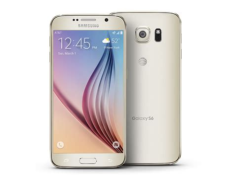 S6 Samsung Phone Galaxy S6 32gb At T Phones Sm G920azdaatt Samsung Us